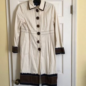 Boden cotton trench coat